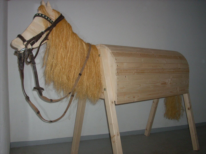 """holzpferd """"horst"""" (lieferzeit siehe startseite) - familie krenkel"""